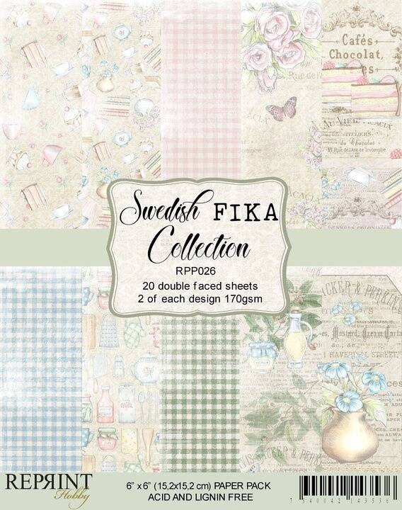 Reprint, Paperpad, Swedish Fika Collection - RPP026