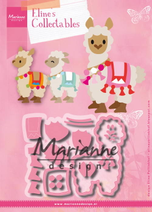 Marianne Design, Collectable, Eline's Alpaca - COL1470