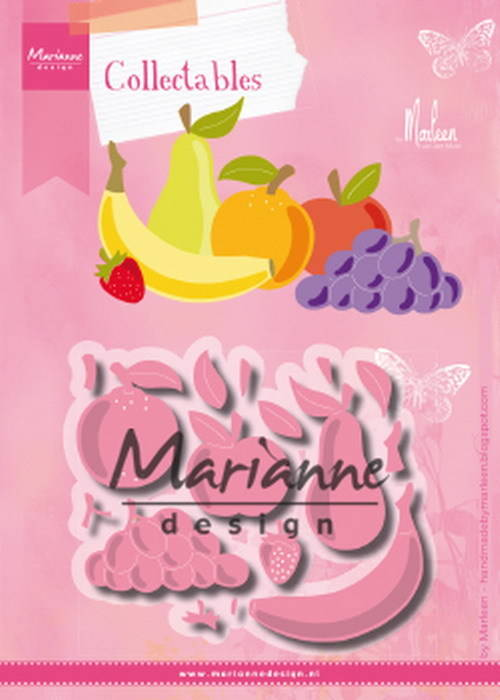 Marianne Design, Collectable, Fruit by Marleen - COL1469