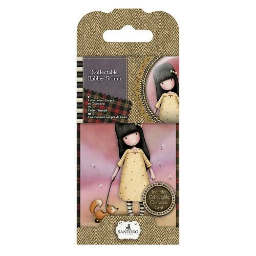 Gorjuss, Collectable Rubber Stamp, Nr. 3, The Pretend Friends - GOR907303