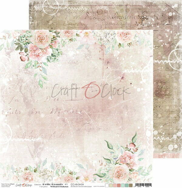Craft O Clock, Scrapbookvel, Hello Beauty 04