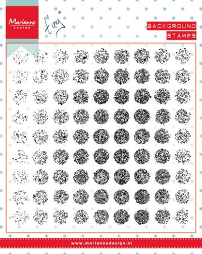 Marianne Design, Clear Stamp, Distressed Dots - CS0977