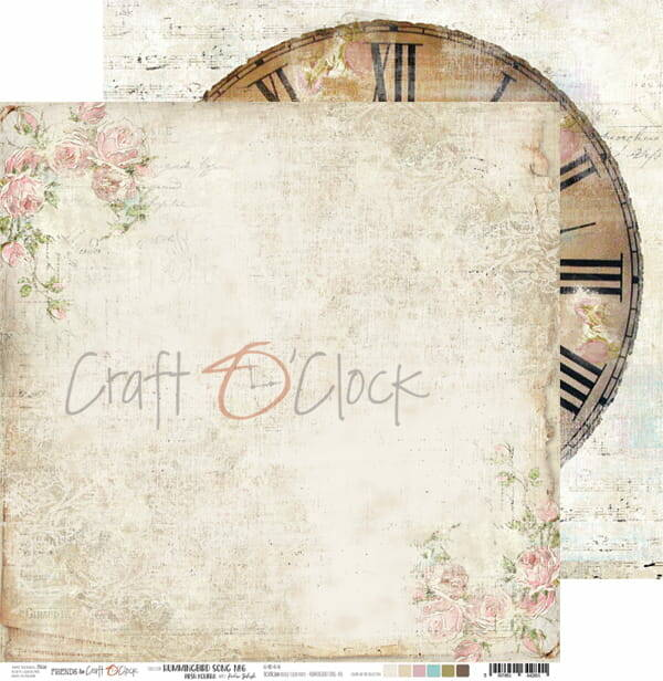 Craft O Clock, Scrapbookvel, Hummingbird Song 06