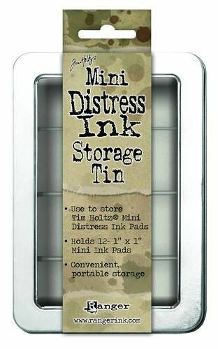 Ranger, Tim Holtz, Mini Distress Ink Pad, Storage Tin - TDA42013