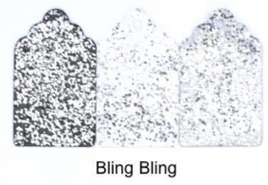 WOW, Embossing Poeder, Gils Night Out, Bling Bling