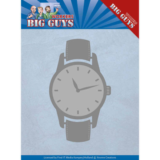 Yvonne Creations, Snijmal , Big Guys, Watch - YCD10206