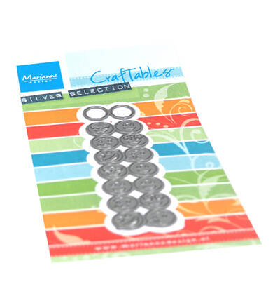 Marianne Design, Craftable , Punch Die Smileys - CR1508