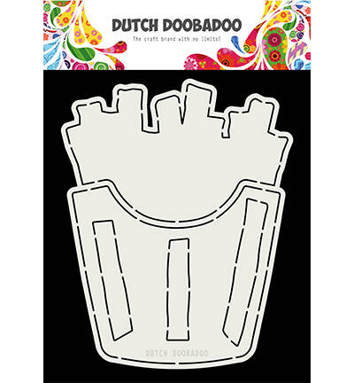 Dutch Doobadoo, Card Art , French Fries - 470.713.803