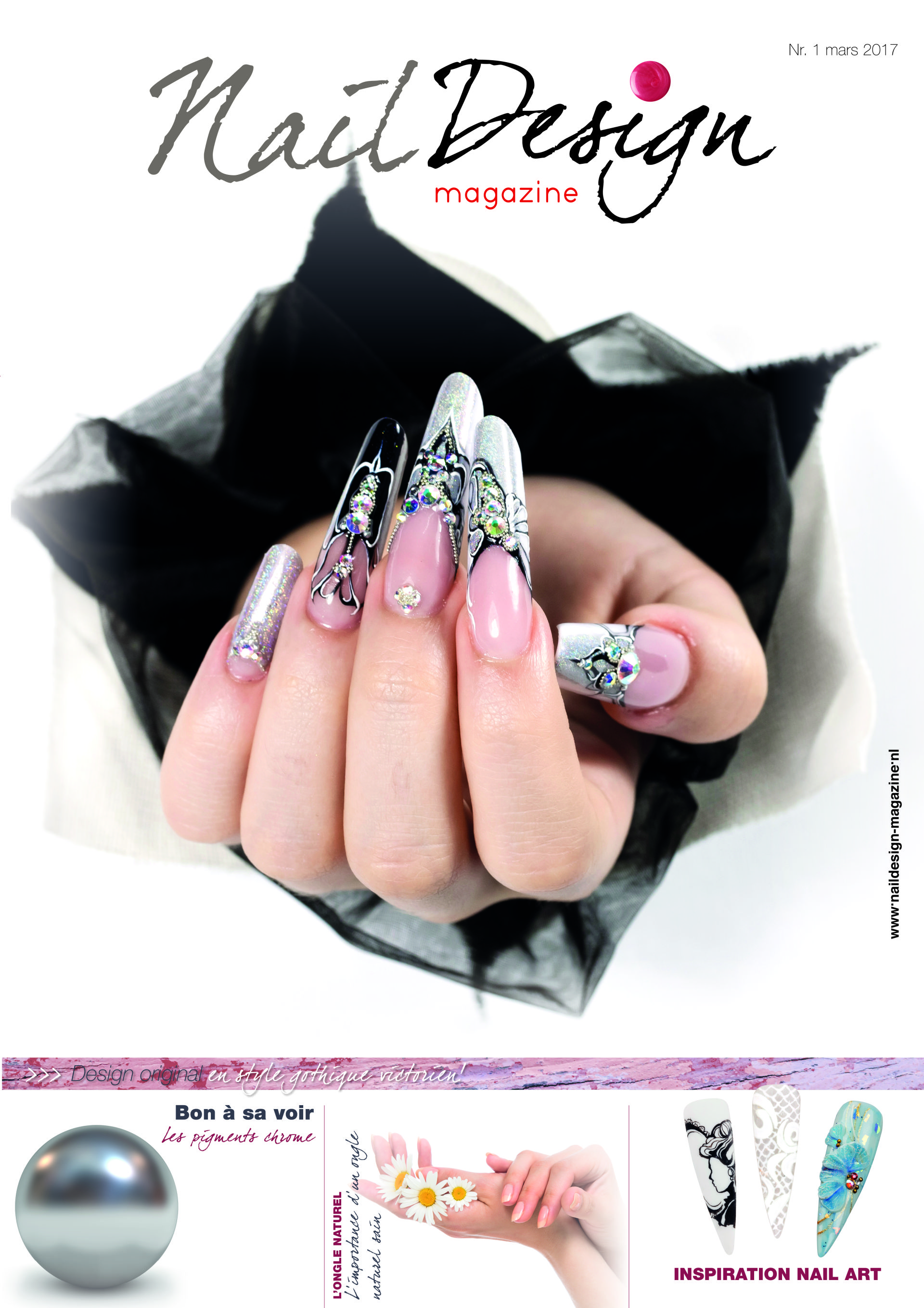 S 39 abonner nail design magazine fran ais for Abonnement magazine design