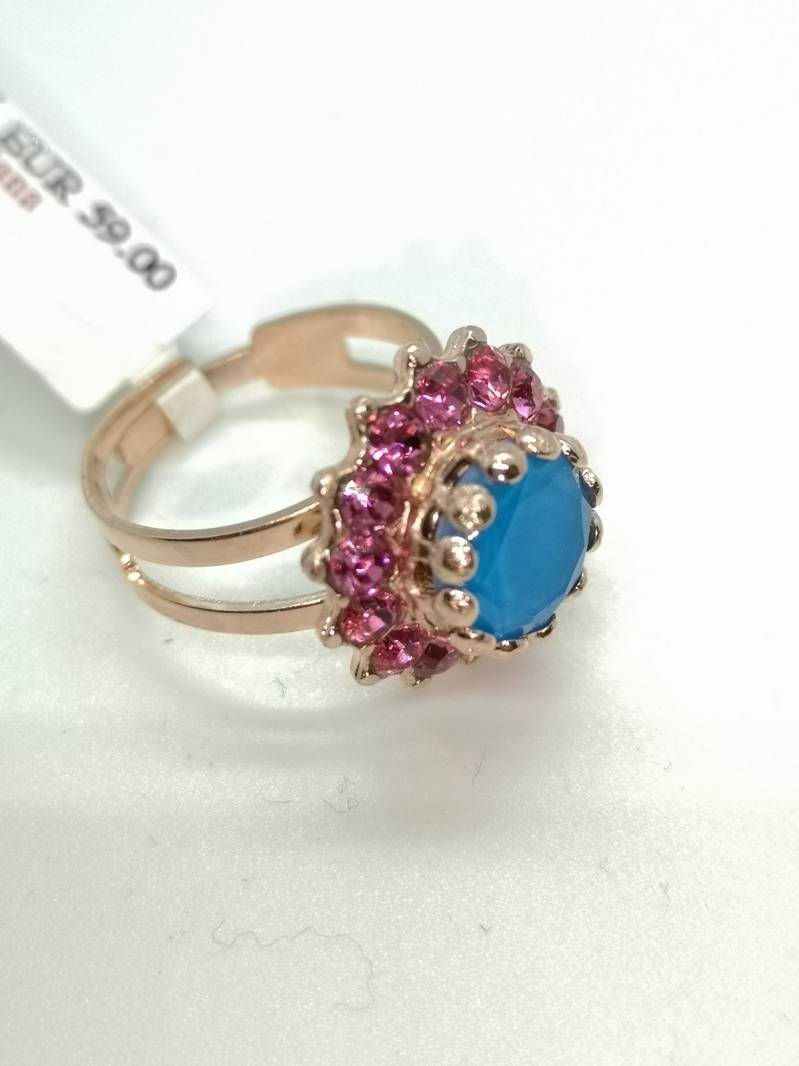 Nature / Spring Flowers Ring R-7163-2141-RG