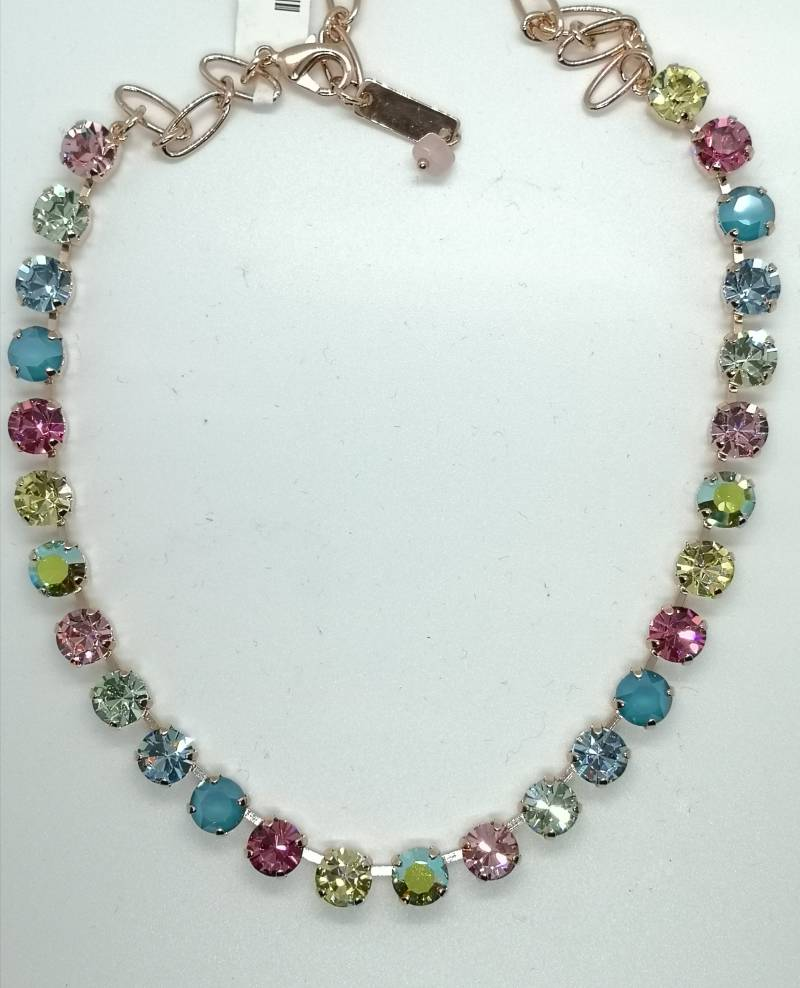 Nature / Spring Flowers Necklace N-3252-2141-RG