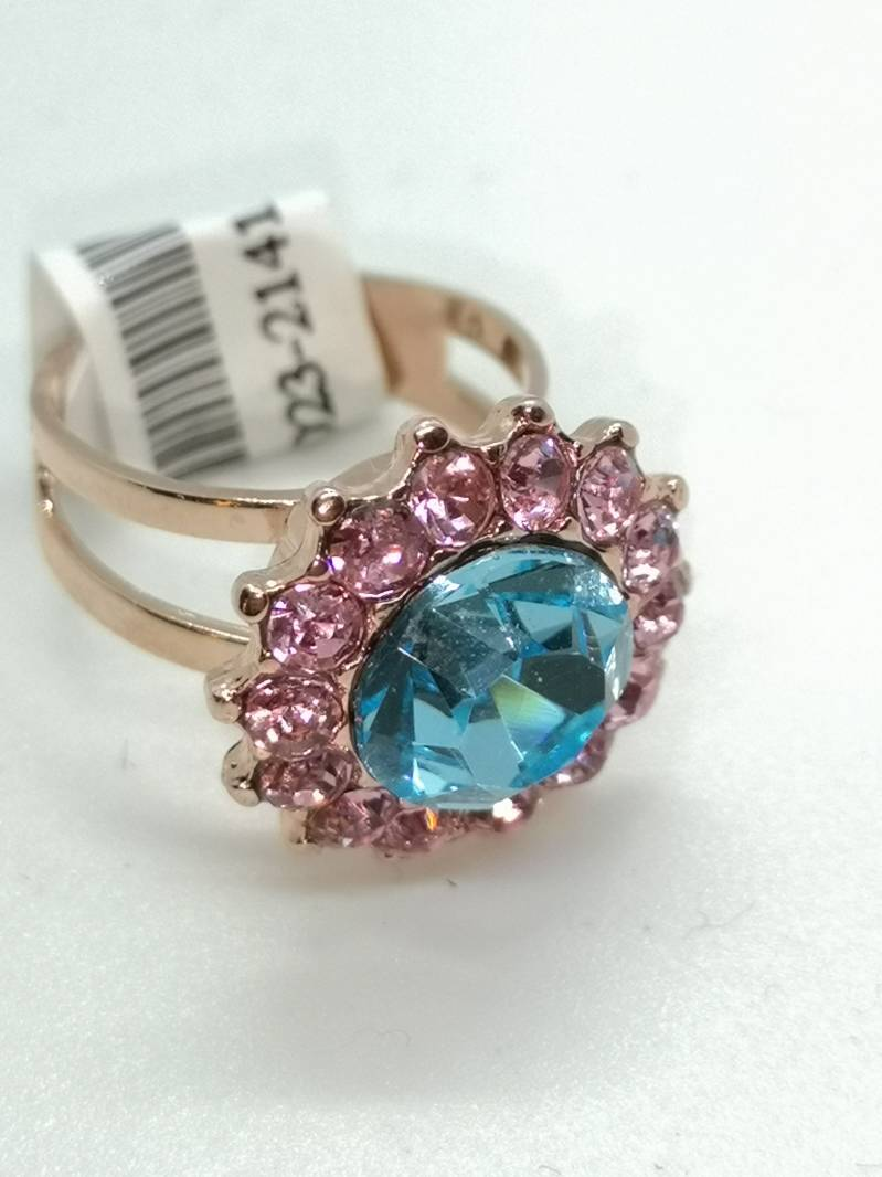 Nature / Spring Flowers Ring R-7023-2141-RG
