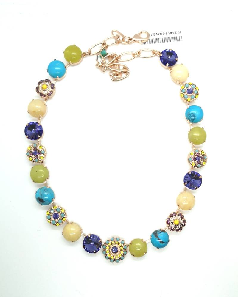 Inspiration / Happiness Necklace N-3246/3-1024-RG