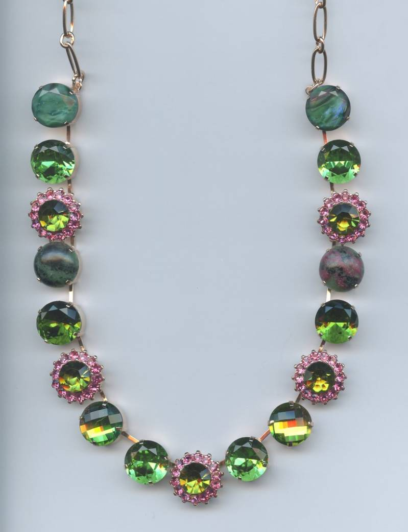 The Sweet Life / Tutti Frutti Necklace N-3016 M142 RG