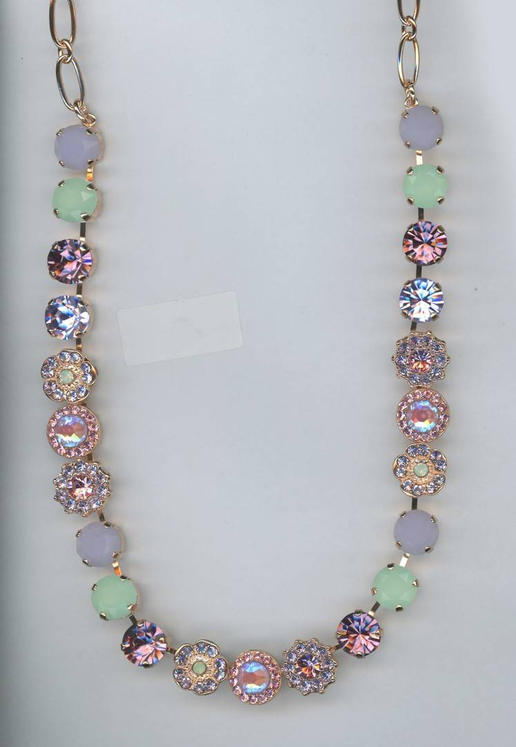 Botanica / Lavender Necklace N-3045/1-1910-RG