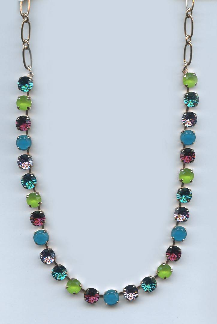 Nature / Peacock Necklace N-3252-2139-RG