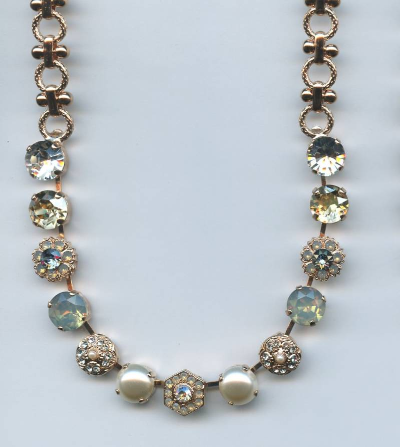 Nature / Seashell Necklace N-3411-M39361-RG