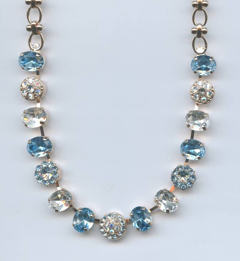 The Sweet Life / Italian Ice Necklace N-3416-141-RG