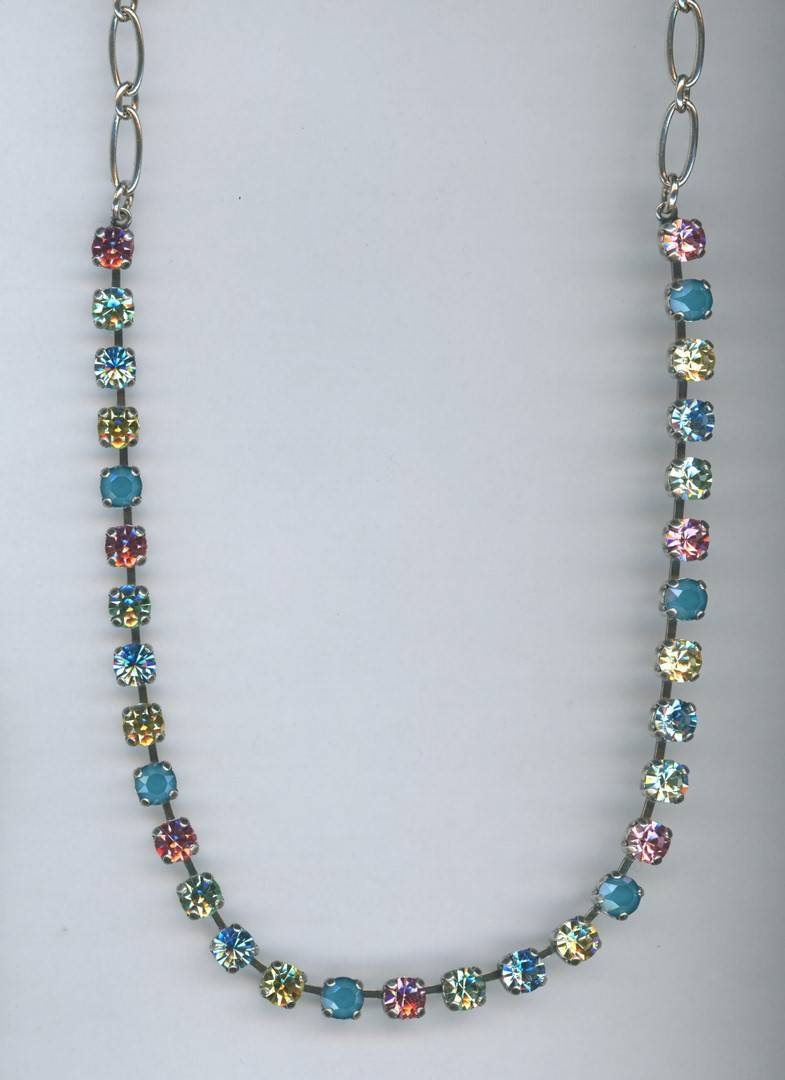 Nature / Spring Flowers Necklace N-3430-2141-RG