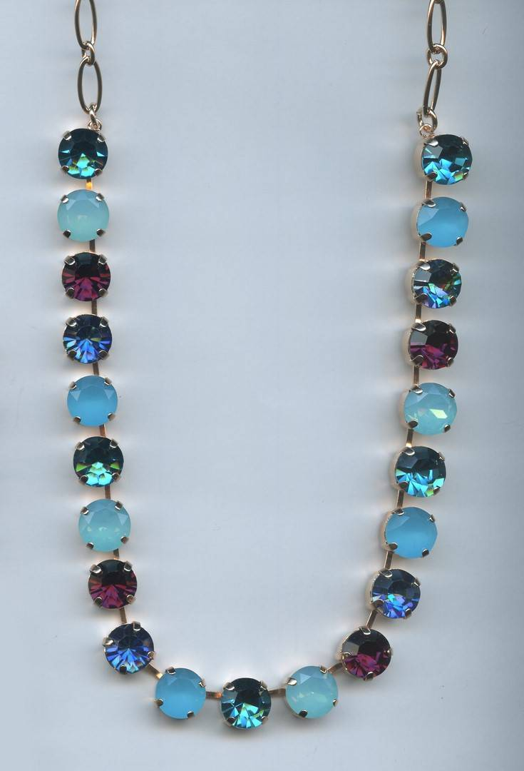 Nature / Peacock Necklace N-3474-2139-RG