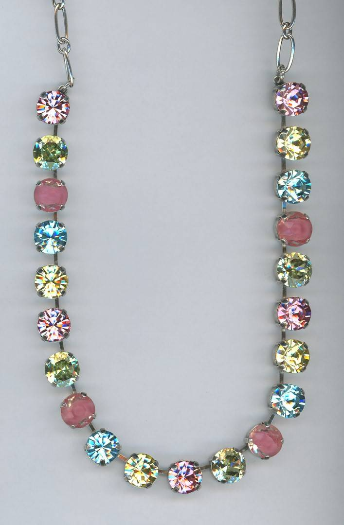 Nature / Spring Flowers Necklace N-3474-2141-RG