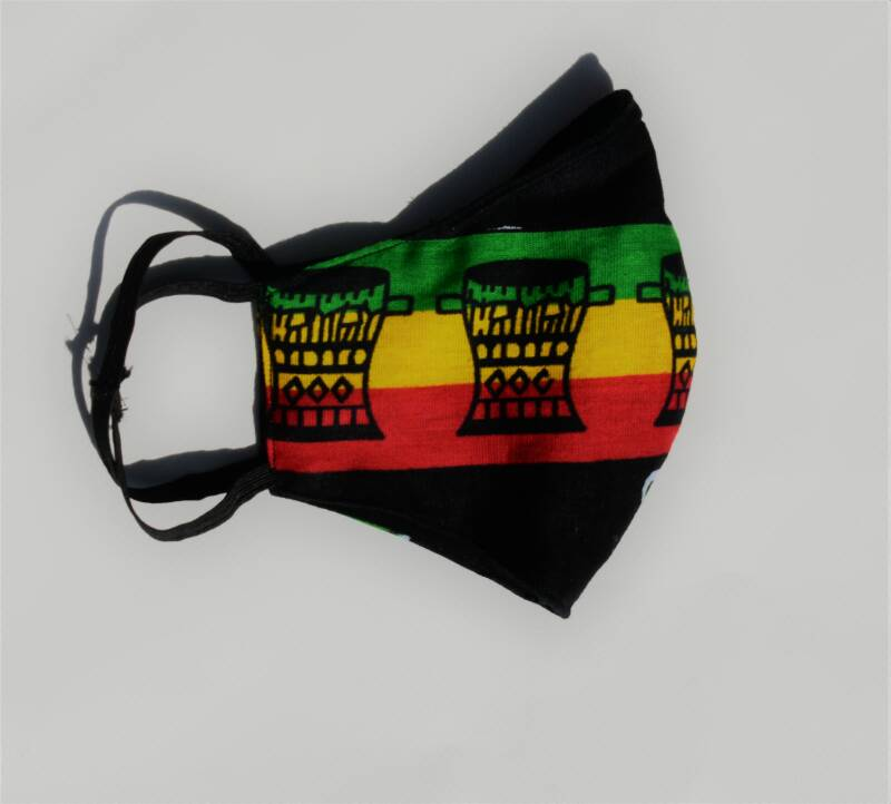 Reversibel Mask With Filterpocket | Limited Edition Rasta