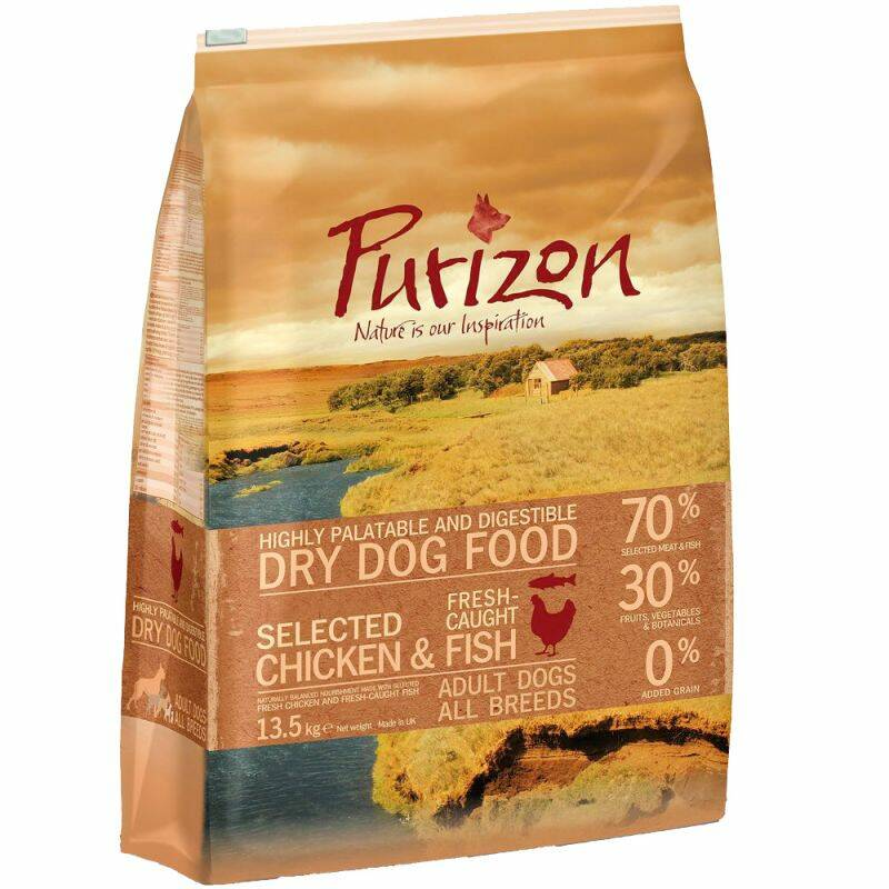 Purizon Getreidefrei! Adult Chicken & Fish 4 Kilo (4x1)