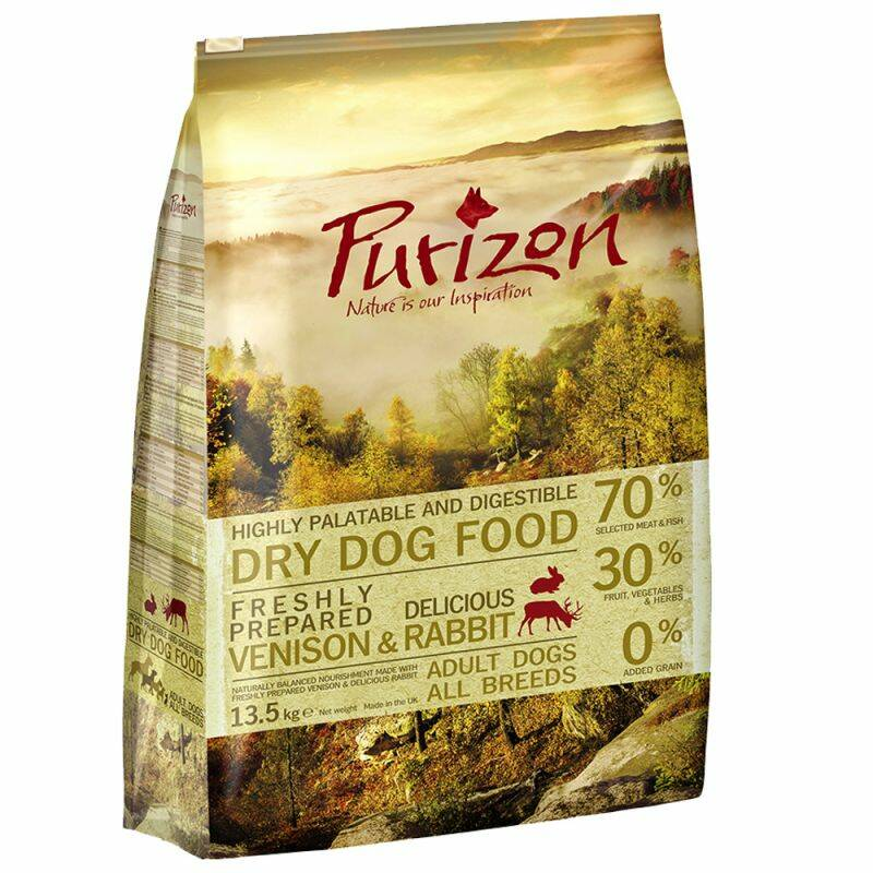 Purizon Getreidefrei! !! Adult Wild & Rabbit 4 Kilo (4x1)