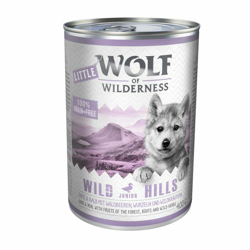 Little Wolf of Wilderness 6x400 gram
