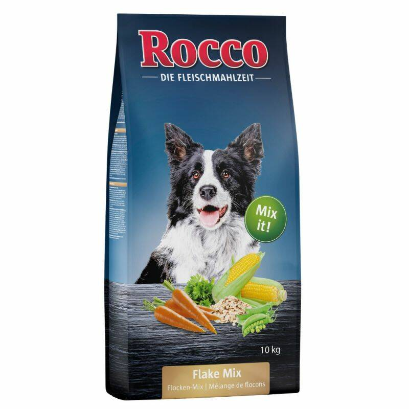 Rocco Flakes-Mix Adult Hundenfutter tasche 10 kg