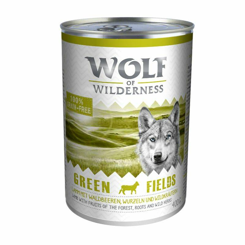 Wolf of Wilderness Adult Voordeelpakket: 12x400 gram