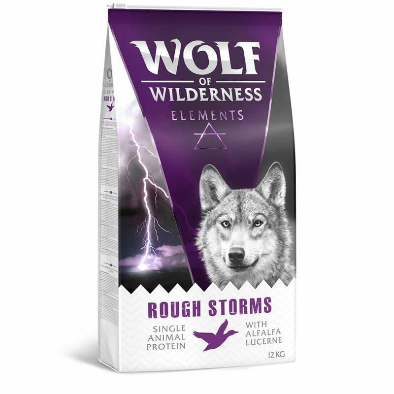 "NEU!! Wolf of Wilderness ""Elements"" Testpaket für Erwachsene 4x1 Kilo"