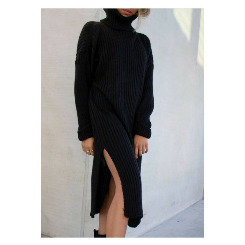 rowena knitted dress