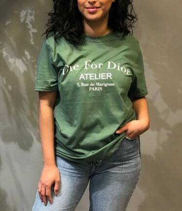 die for...t-shirt green