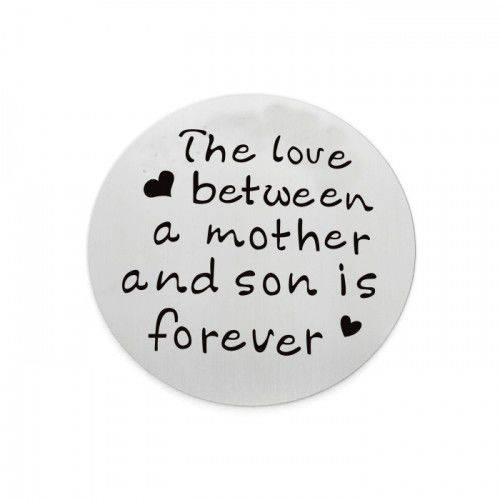 The love between mother and son is forever