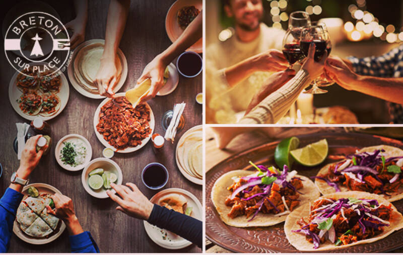 Mexicaans shared dinning 3 pers.