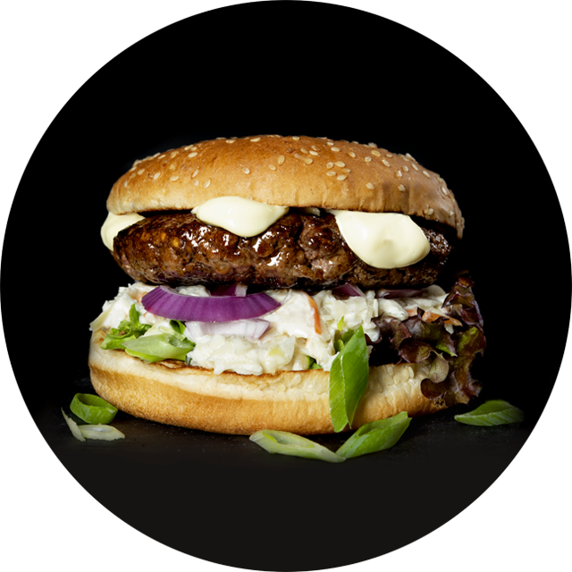 Oosterse hamburger