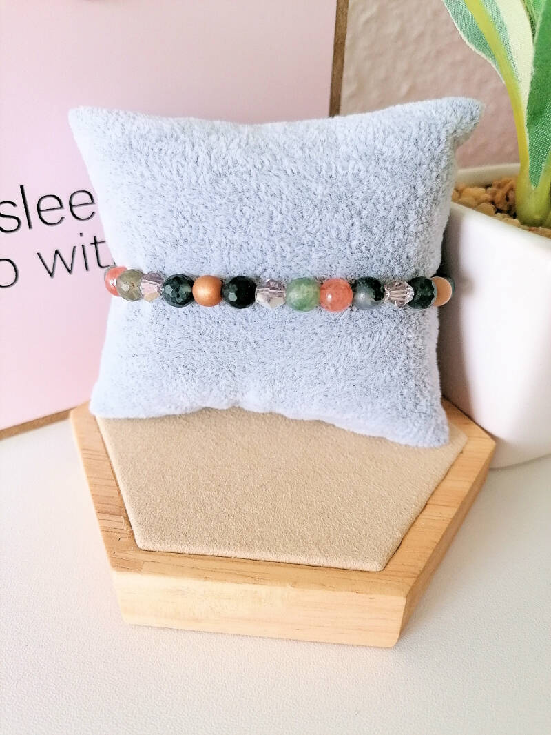 Edelstein Armband - Nature Love