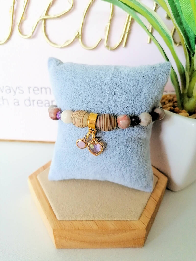 Edelstein Armband - Natural Beauty