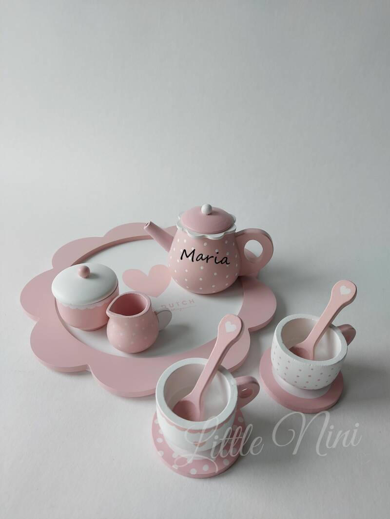 Theeservies Roze
