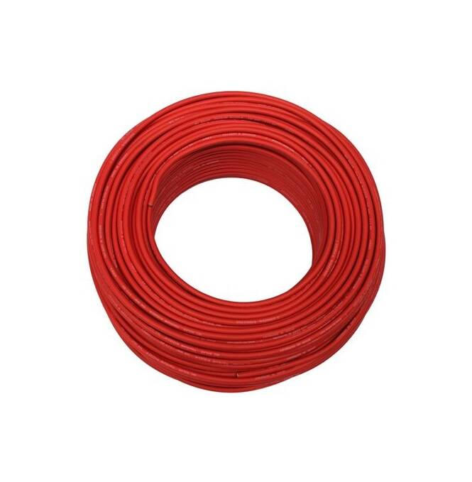 Solarkabel PV, rot 1x4,0mm, Rolle a 100m