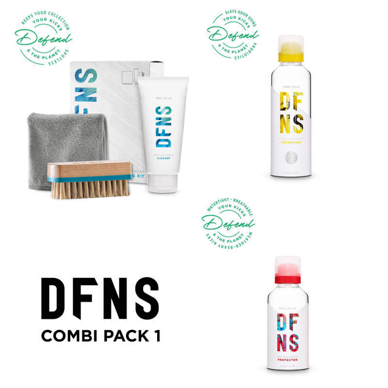 Combi Pack 1 DFNS Cleaning Kit, Refresher & Protector