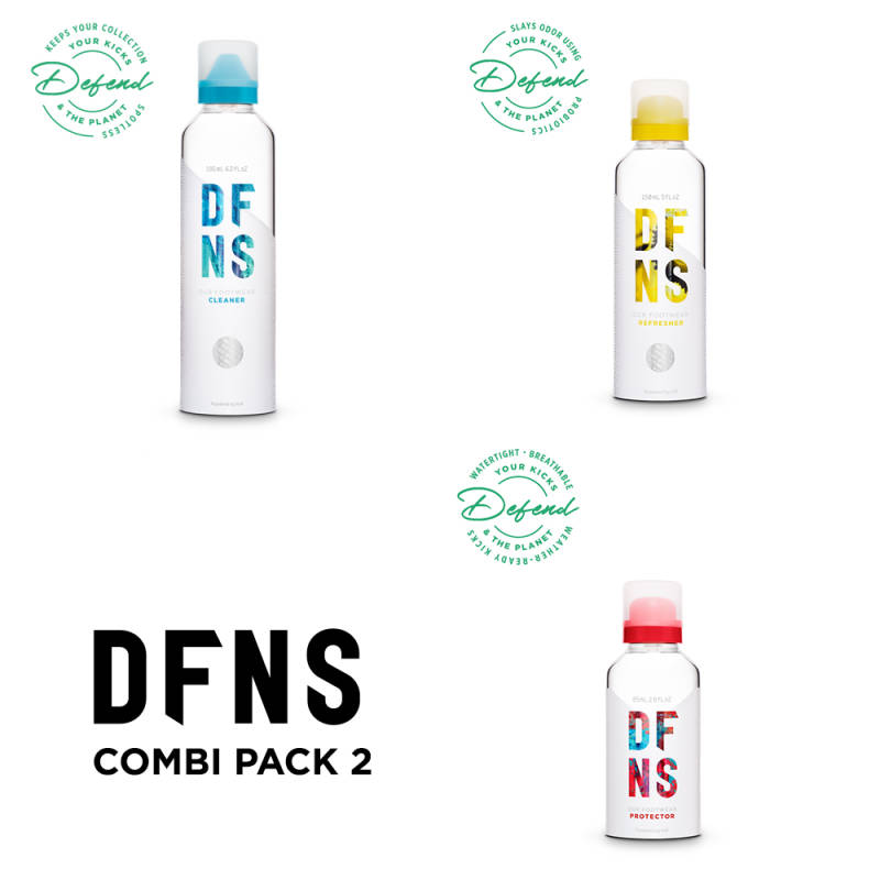 Combi Pack 2 DFNS Cleaning Solution, Refresher & Protector