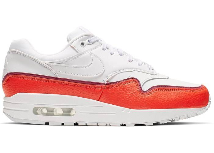 Nike Air Max 1 WMNS 'Liner White Red'