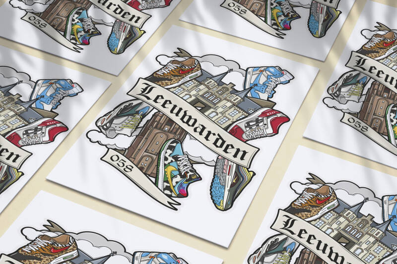 SF x Hyprints Leeuwarden Sneaker Culture Poster (Limited Edition)