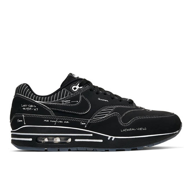 Nike Air Max 1 'Tinker Sketch to Shelf Black'