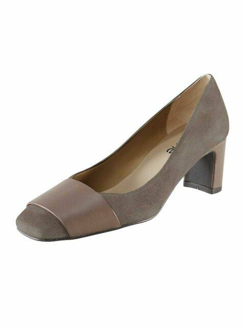 SUEDE NAPPA LEATHER PUMPS