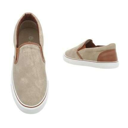 Casual light brown shoes
