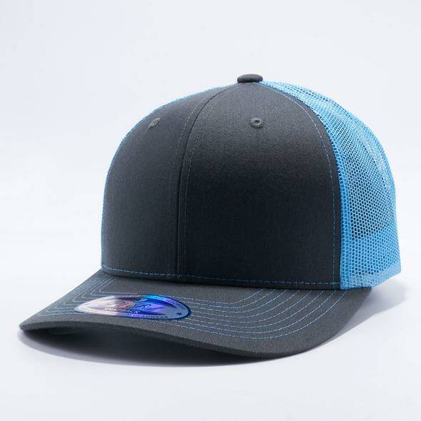 Baby blue trucker cap