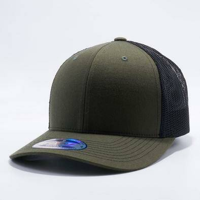 Row trucker cap